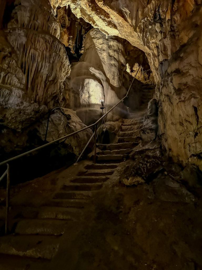 Abenteuerliche Treppe